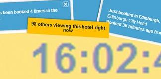 Using Urgency Hotel Conversion