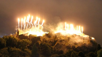 Edinburgh Fireworks
