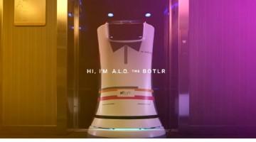 Botlr Hotel Robot