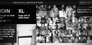citizenm hotel landing page