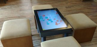 Touch Table Hotel Technology