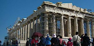 Chinese Visiting Greece