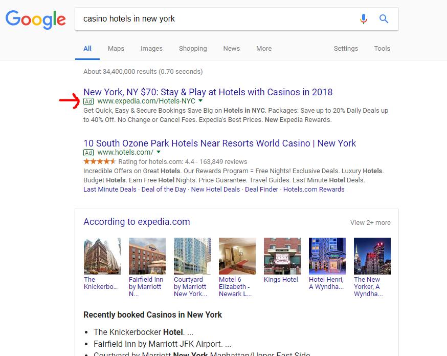 Casino Hotels NYC