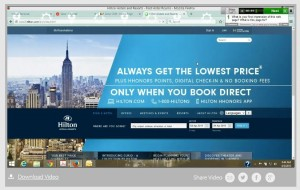Hilton Hotels User Test