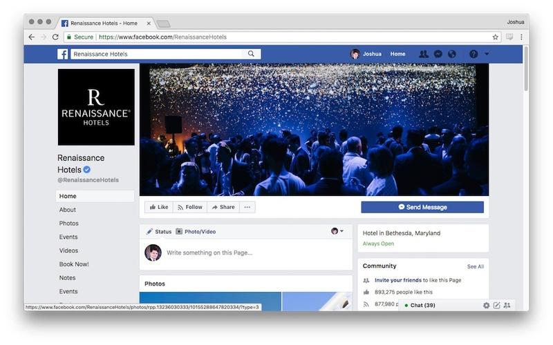 Renaissance Hotels Facebook