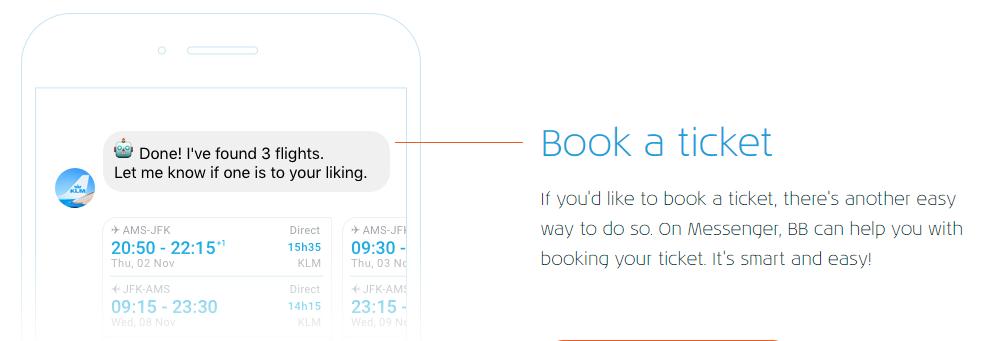 KLM Chatbot